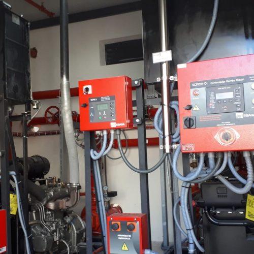 Instalación Contraincendios En Fábrica